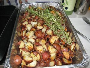 Holiday Rosemary Potatoes