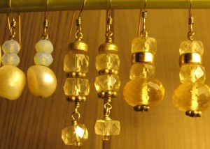 Earrings by Sister-in-Law Susan