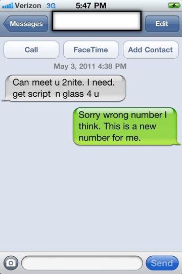 Did Verizon give me a drug dealer's phone number? (3/4)