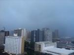 It's raining all over Hawaii. This is looking toward Waikiki.