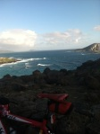 Windy conditions have generated big waves on Oahu's east-facing shores.