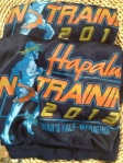 The Hapalua 2013 half marathon organization sent 1,000 of us dri-tech t-shirts this week. I have to say, it's inspiring. My girls are probably happy I'm gonna go run a few nights a week!