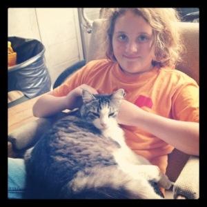 Mr. Cuddles with Kid2.