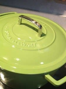 My new green French oven!