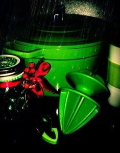 Enjoy green.