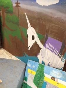 Unicorn bones.